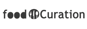 food curation footer background