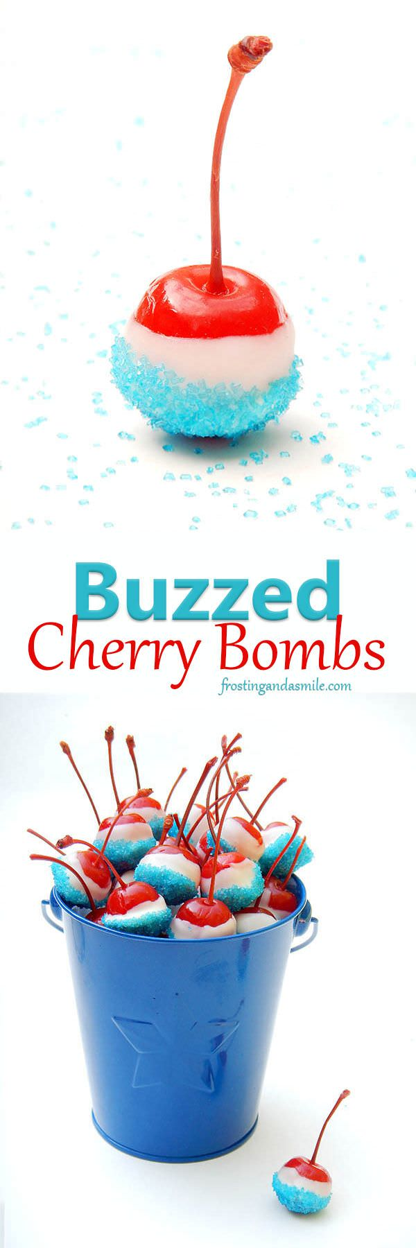 What? Wow! These buzzed cherry bombs can make you a picnic rockstar. Learn how you can do this in this recipe guide.