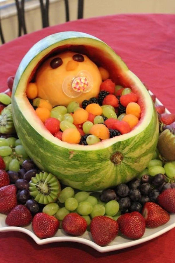 creative-watermelon-fruit-salad-baby