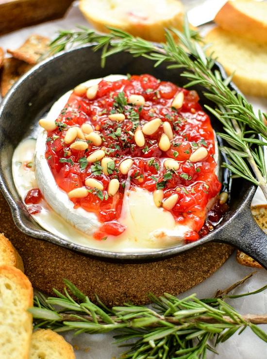 baked-brie-with-sweet-red-pepper-jam-pink-when