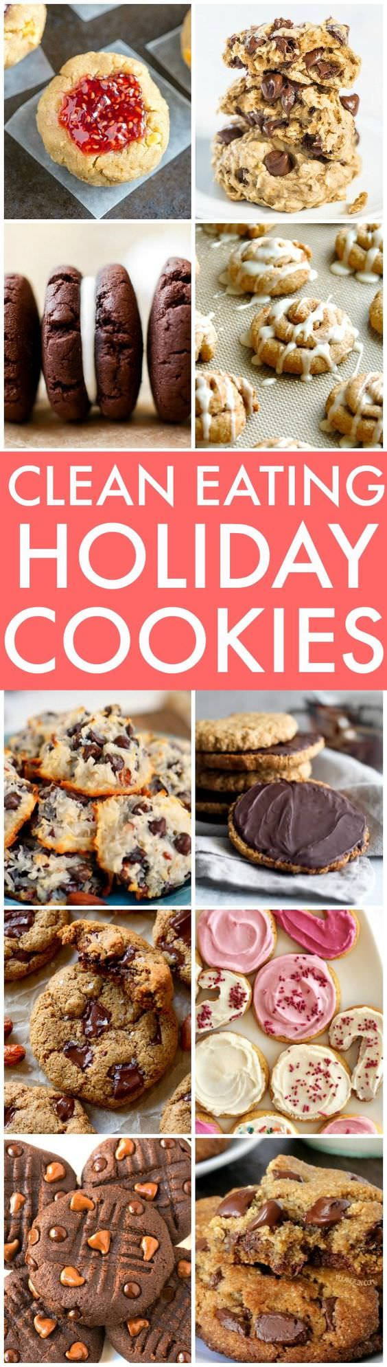 Easy, delicious and simple cookies including no-bakes, soft baked and super soft and chewy ones! Many are made without oil, butter, excessive sugar or flour and paleo, vegan, and gluten free options!