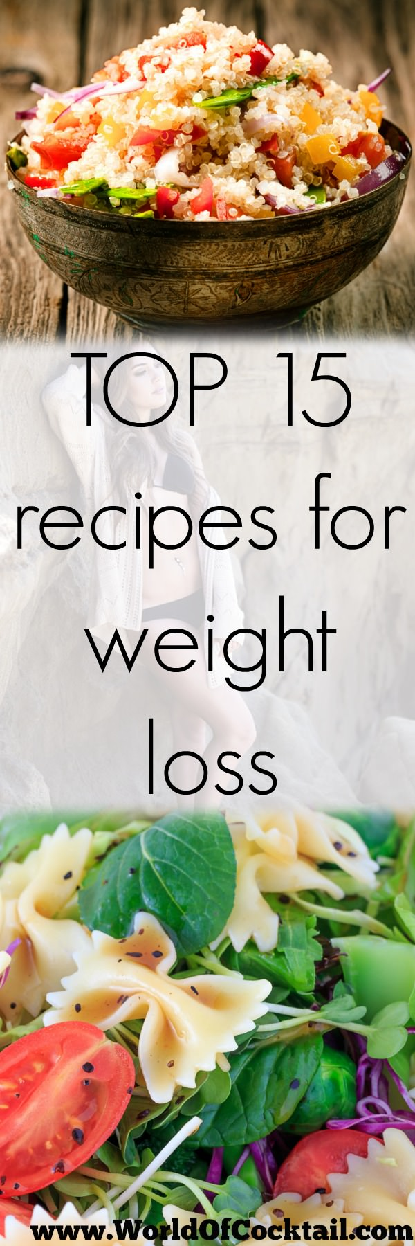 Not just the exercise, correct diet plays a prominent role in losing weight and gaining lean shape. For your help, here are the 15 recipes that you can add into your diet!