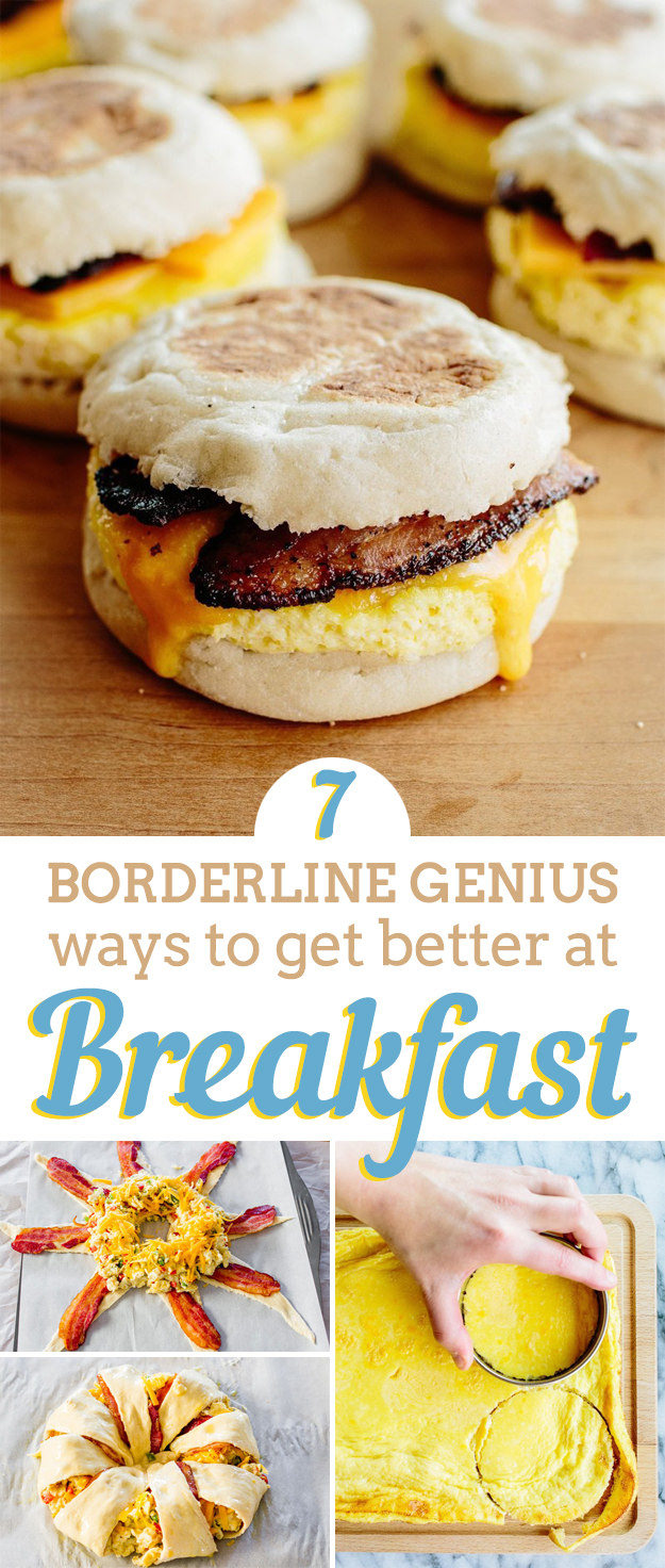 Learn these tricks to make your BREAKFAST better as it is the most important meal of the day. Some people even say that a good breakfast can make or break your day!