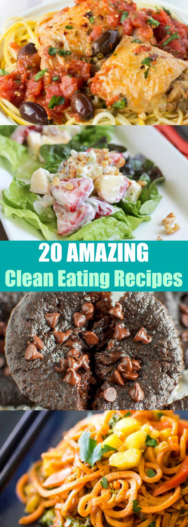 Give your healthy diet a boost with these 20 clean eating recipes that you'll love to try!