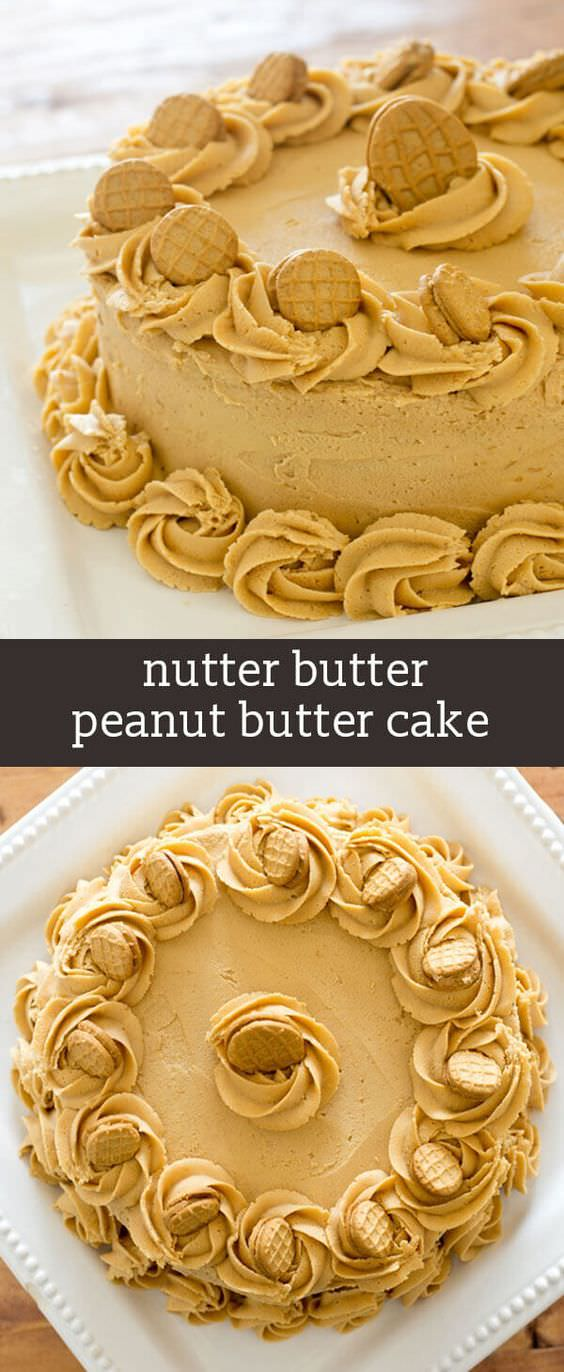 You'll love cake filled with peanut butter. It is so simple to make because it starts with a boxed cake mix.