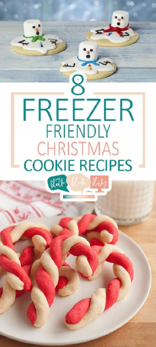 Here are a few of my favorite holiday cookie recipes that are freezer friendly and easy to make.
