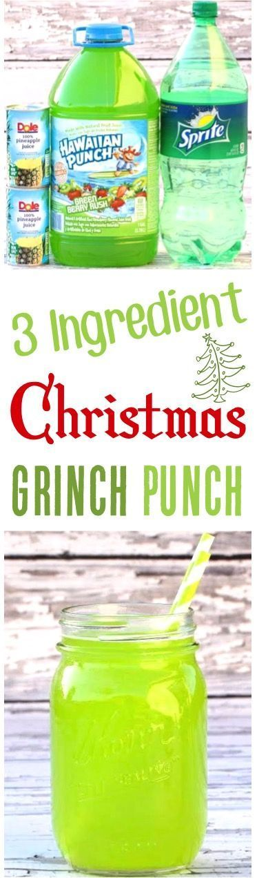 This festive Green Punch Recipe is perfect for your upcoming parties! Easy and so delicious!